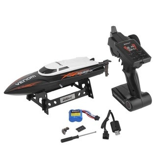 2.4GHz High Speed Remote Control Electric Boat USB Rechargeable RC Speedboat