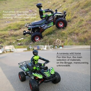 FY-04 1/12 Scale Electric RC Truck Remote Control Offroad Racing Cars 2.4Ghz