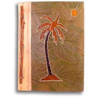 Handmade Palm Tree Design Bamboo/ Leaves Photo Album (Indonesia) https://ak1.ostkcdn.com/images/products/2342030/P10582586.jpg?impolicy=medium