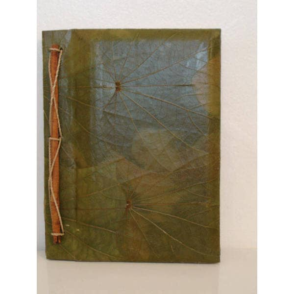 Handmade Lotus Leaves Writing Journal (Indonesia)