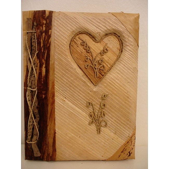 Green Heart Photo Album, Handmade in, Handmade in Indonesia