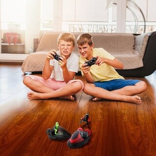Remote Control RC Bumper Cars Battle Cars Battery Powered Action Toy Set of 2