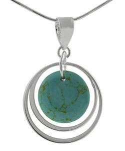 Journee Collection Sterling Silver Block Turquoise Necklace|https://ak1.ostkcdn.com/images/products/2343098/Tressa-Sterling-Silver-Block-Turquoise-Necklace-P10583575.jpg?impolicy=medium