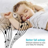 "3.5"" LCD Digital Wireless Baby Monitor Video Camera Two-way Talk Night Vision - White"