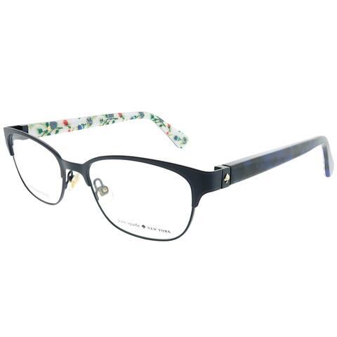 Kate Spade Rectangle KS Diandra JBW Women Blue Havana Frame Eyeglasses
