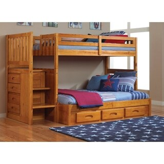 Buy Bunk Bed Honey Finish Kids Toddler Beds Online At Overstock