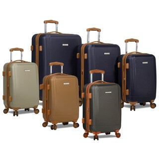 Dejuno Deluxe Collection Lightweight 3-Piece Spinner Luggage Set