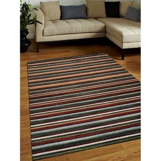 Link to Hand Knotted Loom Wool Area Rug Contemporary Multicolor Similar Items in Transitional Rugs