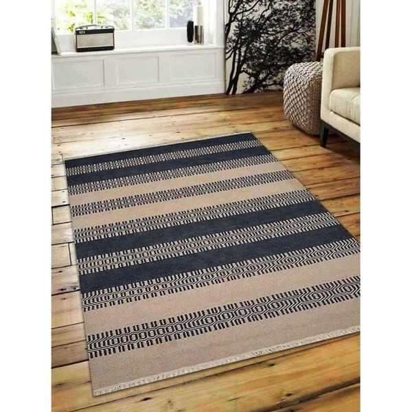 Kilim Rug Cream: Shop Hand Woven Flat Weave Kilim Wool Area Rug
