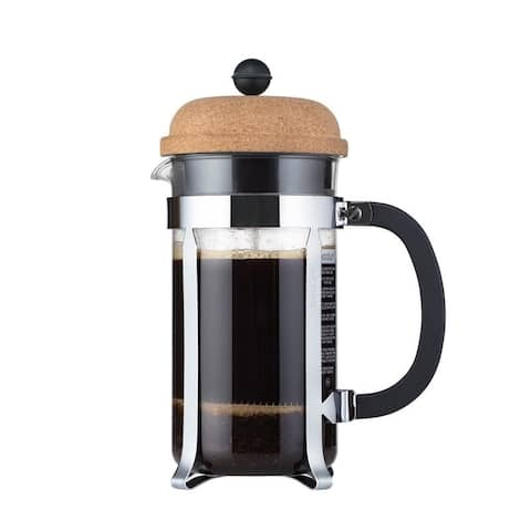 Bodum CHAMBORD French Press Coffee Maker, 34 oz, 1 L, 8 Cup, Cork