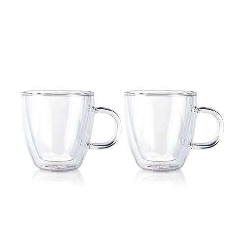 Bodum BISTRO Espresso Coffee Mug, Double Wall, .15L, 5oz,(Set of 2)