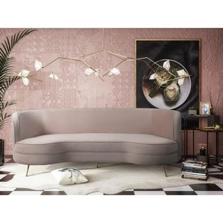Link to Flare Blush Velvet Sofa Similar Items in Sofas & Couches