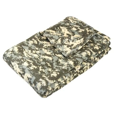 Camouflage Digital Print Blanket