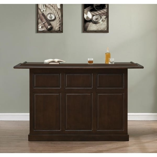 Shop Rosa Sierra Finish Wood Home Bar On Sale Free Shipping