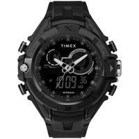 Timex Men's TW5M23300 Guard DGTL Bold Combo Black/Negative Resin Strap Watch - N/A
