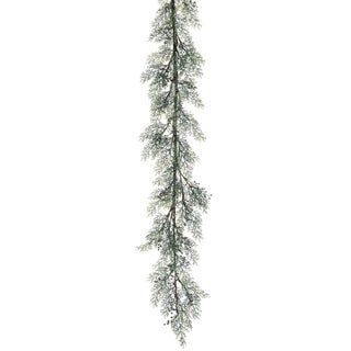 "Cypress Garland - green - 5'5""l x 5""w x 5""h"