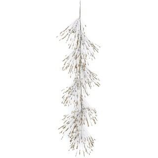 "Gold & Silver Glitter Pine Garland - gold, silver - 4'l x 7""w x 10""h"