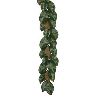"""Magnolia Leaf Garland - Green, Brown - 6'l x 8""""w x 4""""h"""