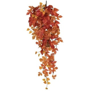 "Autumn Maple Vine Swag - 12""l x 12""w x 39""h"