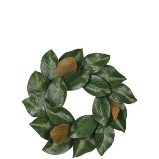 "Magnolia Leaf Accent Ring - 16""l x 4""w x 16""h"