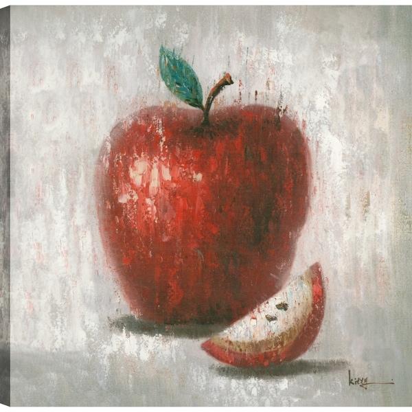 Shop Red Apple, Cuisine Abstract Art, Canvas Print Wall Art 24X24 ...