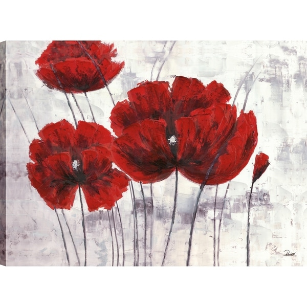 Shop Artmaison Canada Red Poppy Beauty Iii 30 Inch X 40 Inch Ready