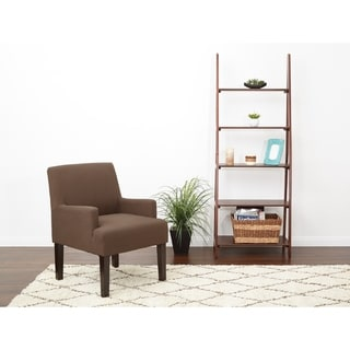 OSP Home Furnishings Main Street Guest Chair in Woven Fabric