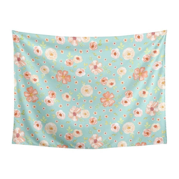 Shop Sweet Jojo Designs Turquoise And Peach Shabby Chic