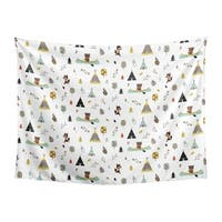Sweet Jojo Designs Woodland Outdoor Adventure Collection Wall Decor Tapestry (60in. x 80in.)