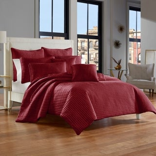 Five Queens Court Gordon Velvet Quilt Coverlet