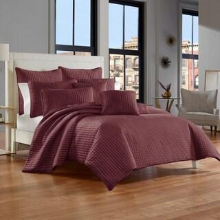 Five Queens Court Gordon Velvet Quilt Coverlet