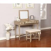 Marilyn Gray Wash Vanity Set