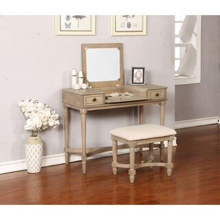 Marilyn Gray Wash Vanity Set
