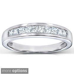 Annello by Kobelli 14k Gold 1/3ct TDW Diamond Semi-eternity Band|https://ak1.ostkcdn.com/images/products/2343450/Annello-14k-Gold-1-3ct-TDW-Diamond-Semi-eternity-Band-H-I-I1-P10583774A.jpg?_ostk_perf_=percv&impolicy=medium