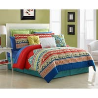 Fiesta Mariposa 4 Piece Comforter Set
