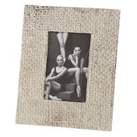 Hammered Design Aluminum Photo Frame