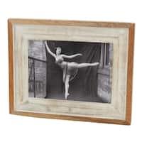 Distressed Wood Photo Frame