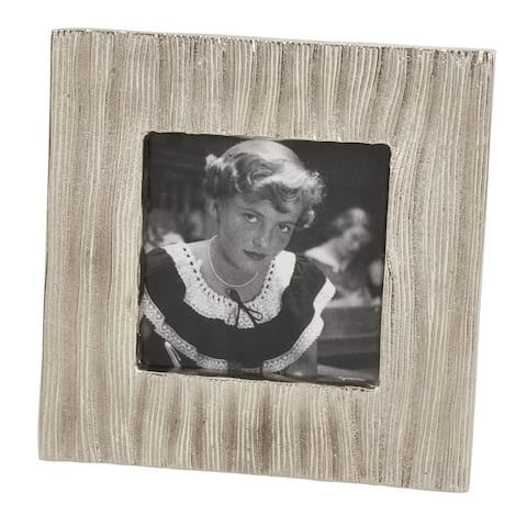 Metal Photo Frame with Textured Design