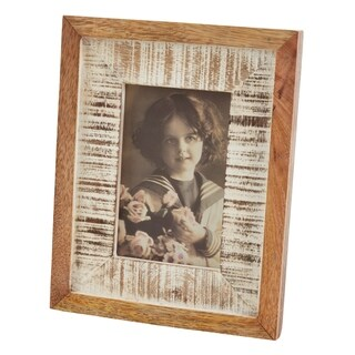 Wooden Picture Frame With Distressed Look