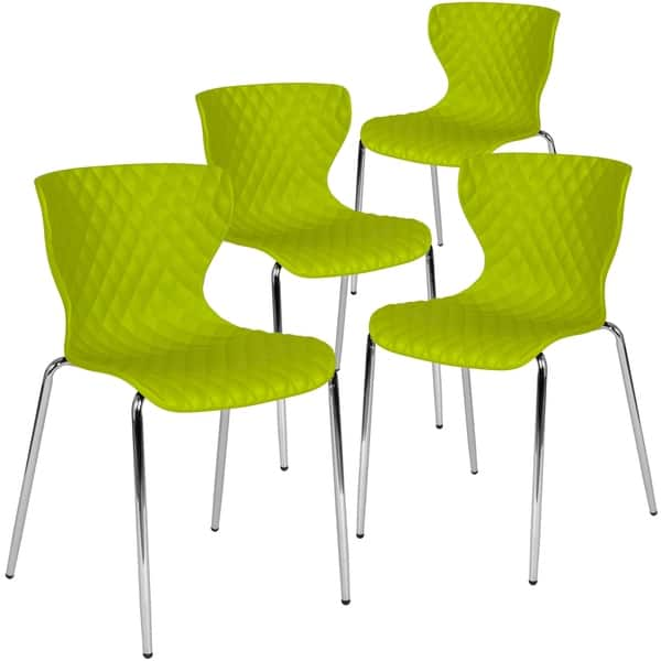 Tremendous Shop 4 Pk Lowell Contemporary Design Plastic Stack Chair Bralicious Painted Fabric Chair Ideas Braliciousco