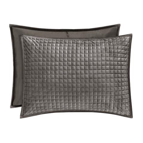 Five Queens Court Gordon Velvet Pillow Sham
