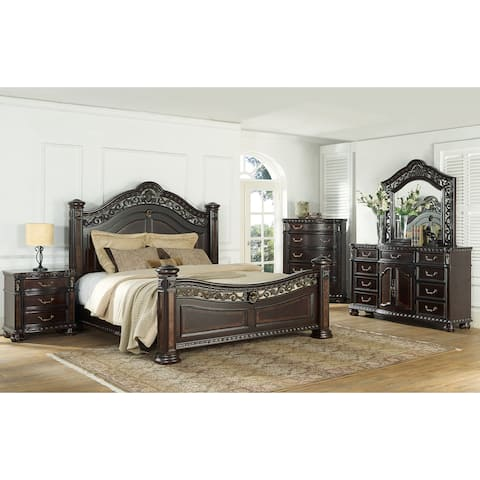 Buy Cherry Finish Wood Bedroom Sets Online At Overstock Our Best