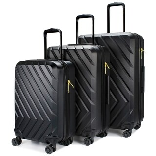 V1969 Italia - Arrow 3 Piece Expandable Hardside Spinner Luggage Set