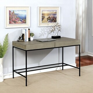 Furniture of America Hamb Contemporary 48-inch Metal Writing Desk