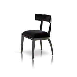 A&X Alek Modern Black Dining Chair (Set of 2)