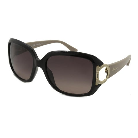 Ferragamo SF666S Women Sunglasses - Black