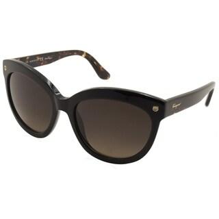 Ferragamo SF675S Women Sunglasses - Black