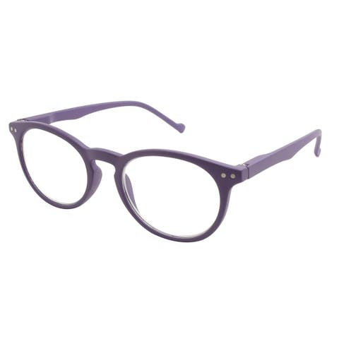 Gabriel + Simone Aubrie Purple Women Reading Glasses