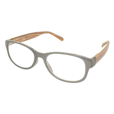 Gabriel + Simone Mina Grey Women Reading Glasses