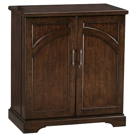 Howard Miller Benmore Valley Solid Wood Expandable Liquor Sideboard - 43 in. high x 38.5 in. wide x 22 in. deep